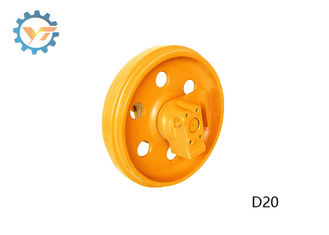 D20 Bulldozer Track Idler Parts , Front Idler Assy With High Torque Transfer
